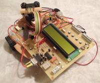 Robot PIC18 capteur ultrason